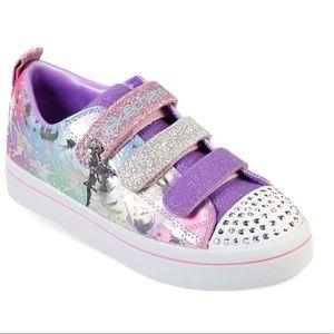 Skechers Girls TWI-Lites-Fairy Wishes Sneaker shoe